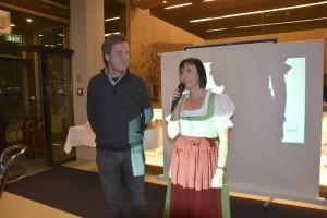 Bürgermeister Tobias Bischofberger und Frau Läßer