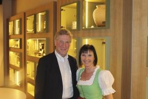Landesrat Erich Schwärzler und Frau Läßer