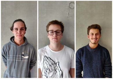 Thomas Mennel, Adrian Zach und Ben Gabriel