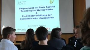 Businesswettbewerb Bank Austria