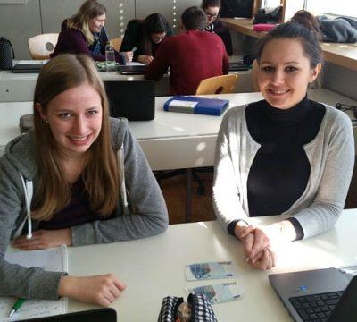 Kerstin Greber und Katharina Oberhauser