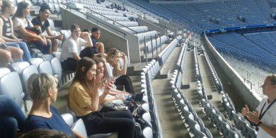 4a im Stadion der Allianzarena