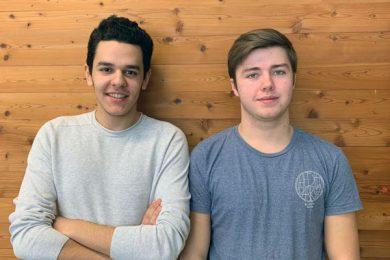 Projektteam Ömer Akkaya und Lukas Kaufmann