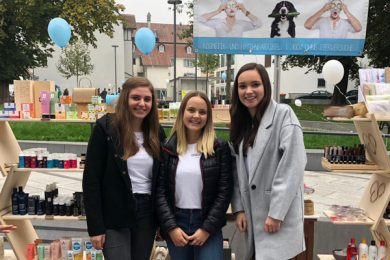 Projektteam Laura Nenning, Anna-Lena Vögel und Lara Nußbaumer