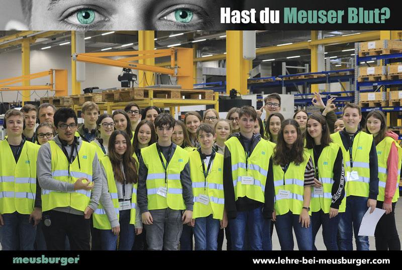 Exckursion zur Firma Meusburger Wolfurt