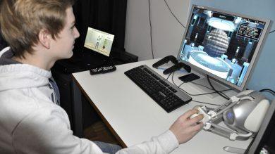 HaK Bezau beim Virtual/Augmented Reality Workshop an der Fachhochschule Vorarlberg
