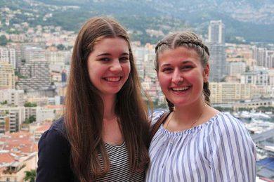 Melina Ammann und Martina Kirchmann