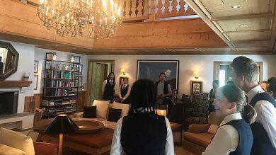 1. GASCHT Bezau besichtigte das Hotel Aurelio in Lech.