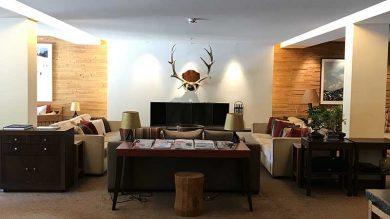 Suite im Hotel Aurelio in Lech.