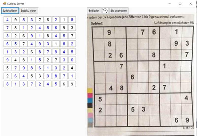 Sudoku-Solver mit Machine Learning durch Generieren eines Modells aus dem neuronalen Netz