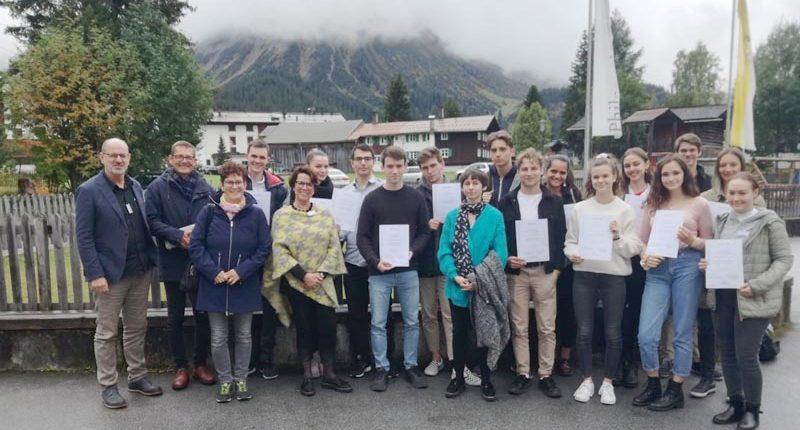 Oliver Dür aus der 4. HAK beim Philosophicum Lech 2019