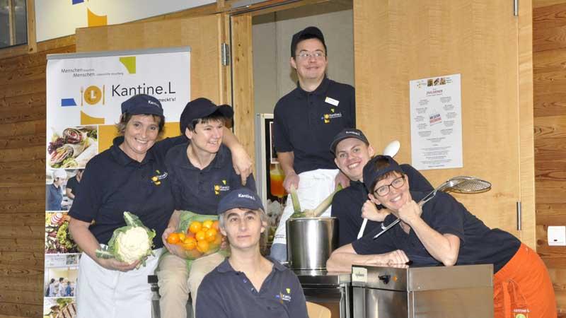 Team der Schulkantin-L der Bezauer Wirtschaftsschulen