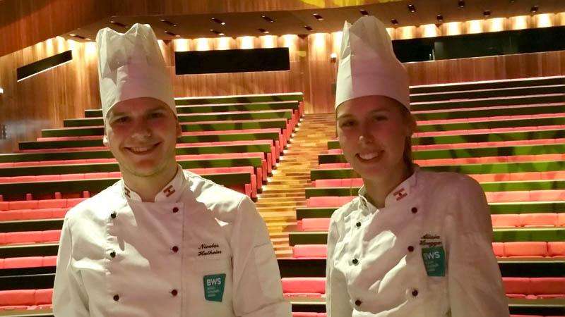 Tourismusschule Bezau beim Medienempfang 2020 im Bregenzer Festspielhaus
