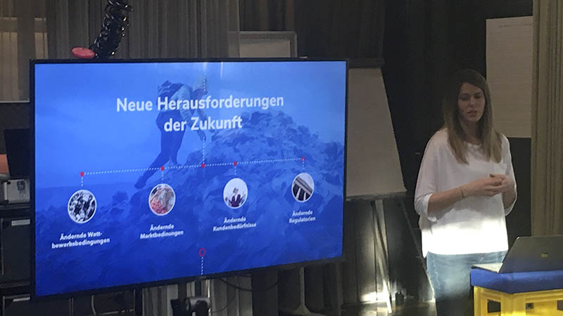 Innovationsworkshop VKW mit Valerie Bernhard