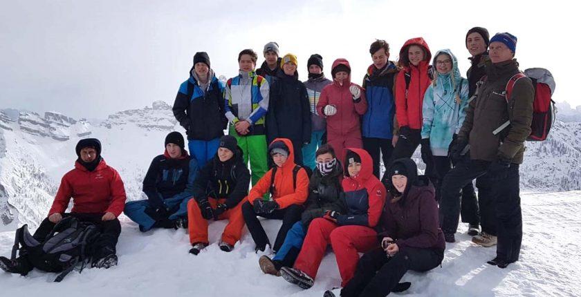 HAK Bezau in den Dolomiten