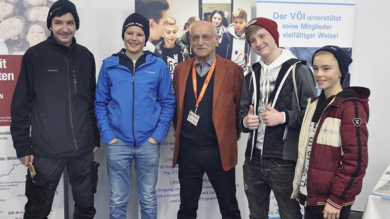 Werkraumschule Bezau auf der com:bau