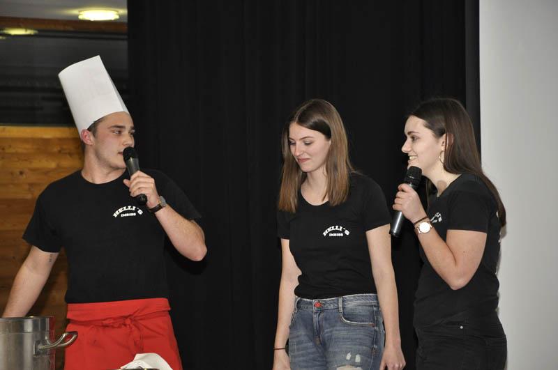 Simon Bereuter, Lina Hämmerle und Verena Schwendinger