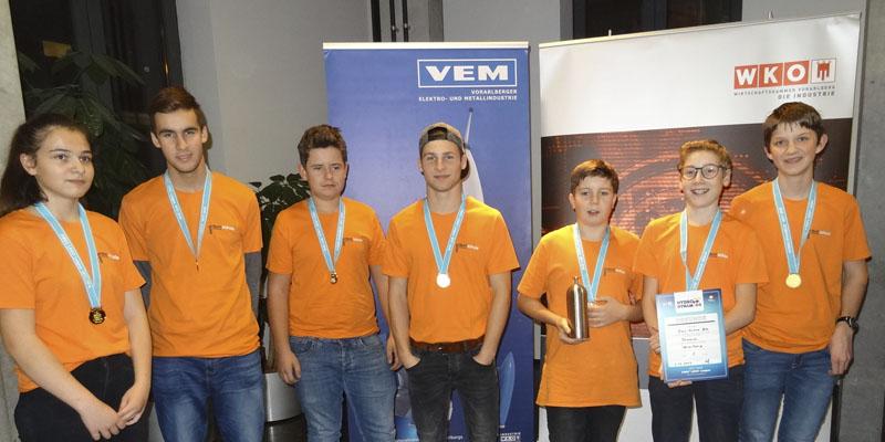 Bestes Newcomer Team und 2. Platz beim Forschungswettbewerb