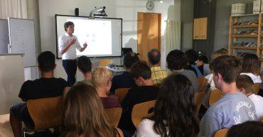 Vortrag von Johannes Scherer zum Thema Verhaltensökonomie
