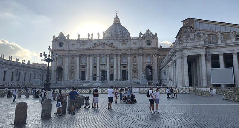Reise nach Italien der V. HLT