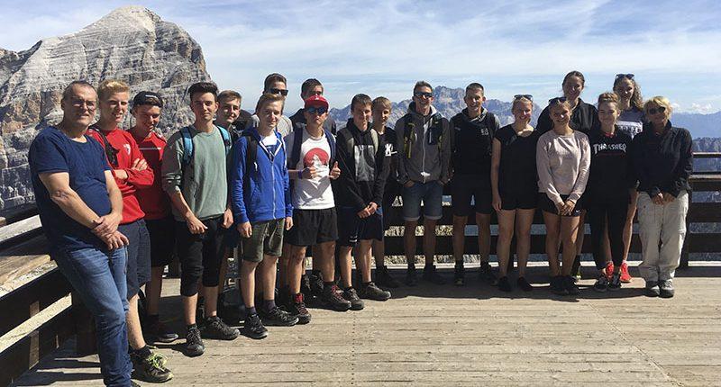 Abschlussreise der 3. Klasse Werkraumschule ins Südtirol