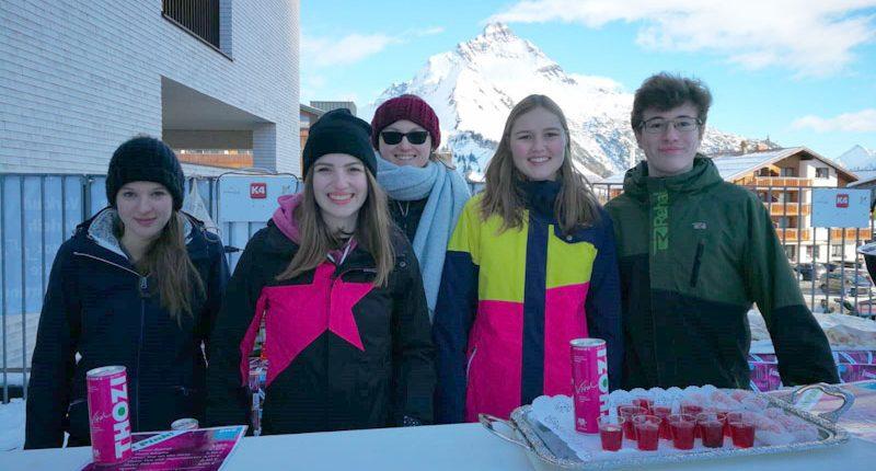 Projekt Thozi der HLT Bezau im Schigebiet Lech am Arlberg