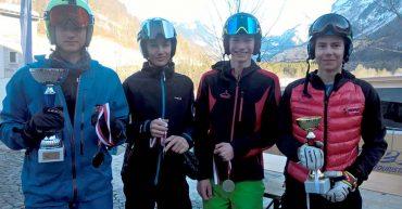 HAK Bezau Mannschaft bei den Schul Olympics Mellau