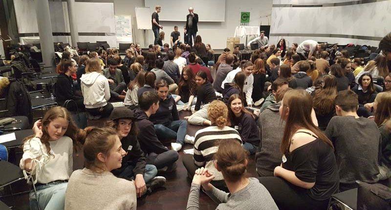 HAK Bezau bei den Vision Days 2019 am WIFI Dornbirn