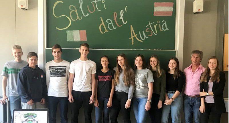 Übersetzungsprojekt Italienisch in der III. HAK Bezau