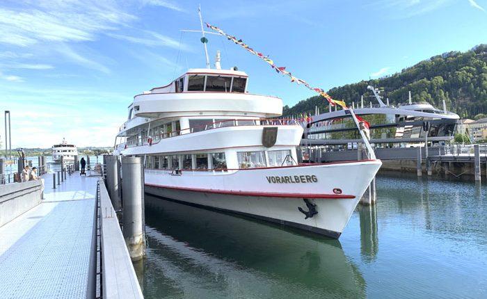 Praxiseinsatz auf dem Schiff - Seniorenausfahrt