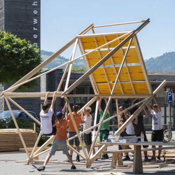 Werkraumschule Bregenzerwald - Projekt Bauwoche