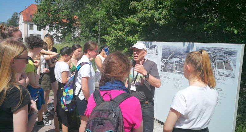 Exkursion der 2. GASCHT Bezau nach Dachau