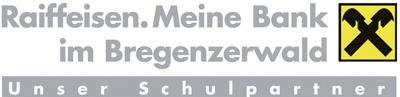 Raiffeisenbanken Bregenzerwald Logo Schulpartner