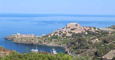 Caprara - eine wunderbare Insel Südwesen Italiens.