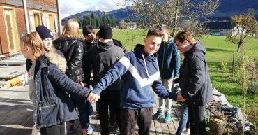 Besuch der HLT beim Biohof Lingenhel in Doren