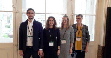 HAK Bezau beim 11th Global Drucker Forum in der Wiener Hofburg