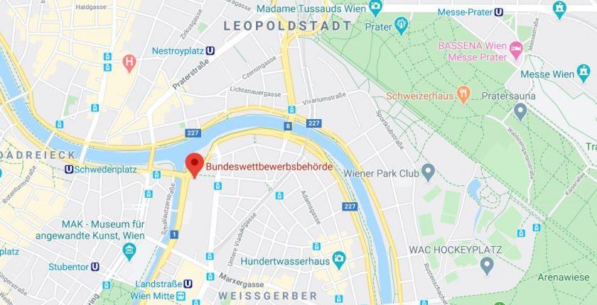 Bundeswettbewerbsbehörde in Wien