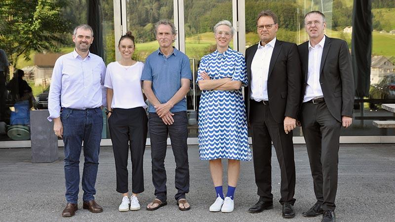 Team der Bezauer Wirtschaftsschulen und des Werkraum Bregenzerwald