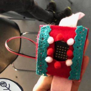 Schrittzähler-Armband - Basic Coding im Techniksatellit Bregenzerwald