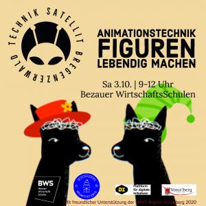 Workshop Animationstechnik im Technik-Satellit Bregenzerwald