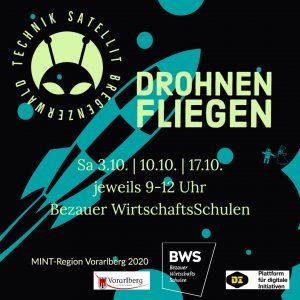 Workshop Drohnenfliegen im Technik-Satellit Bregenzerwald