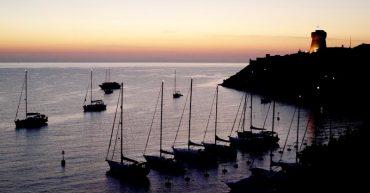 Insel Capraia als Praktikumsplatz für die Tourismusschule Bezau