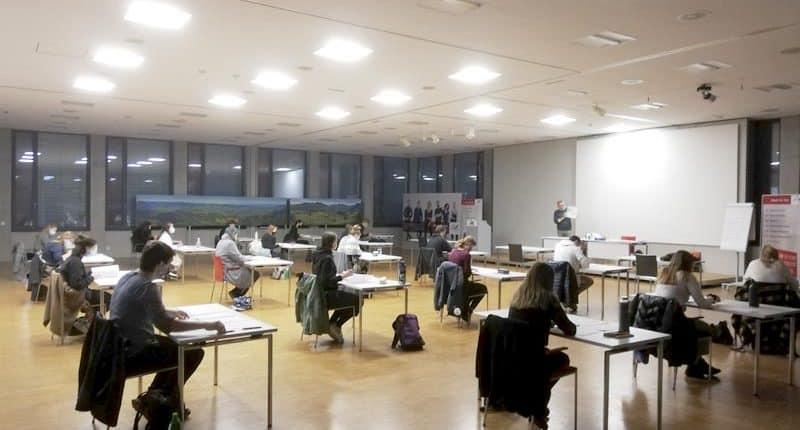 Sprachzertifikzierung der HAK und HLT Bezau in Italienisch an der AK Feldkirch
