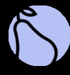 Icon für gesundes Essen