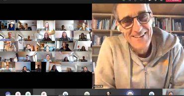 Vortrag mit Alois Flatz beim Entrepreuneurship-Tag an der HAK Bezau