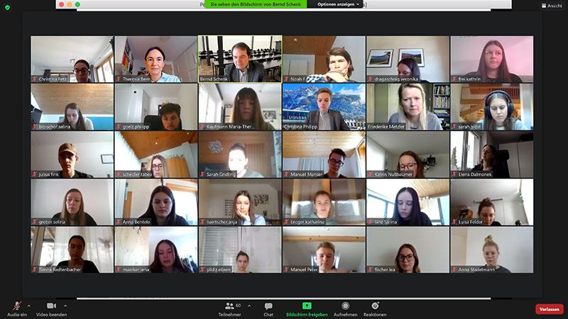 9. Entrepreneuship-Tag über Zoom an den BWS