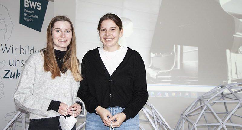 Sarah und Elisa initiierten ein Kunst- und Kulturprojekt an den BWS