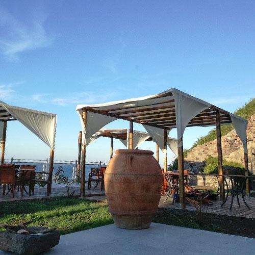 Anlage im Hotel Saracino auf Capraia