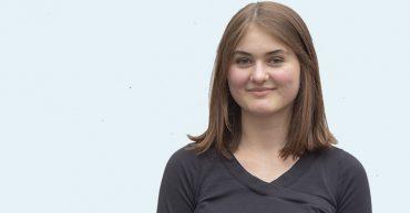 Landesschulsprecherin der BMHS Anne Urbanek von der HAK Bezau