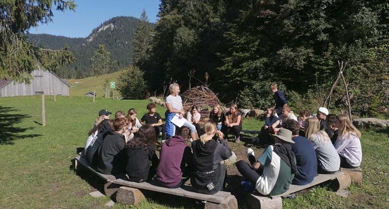 Barfusstage der HAK Bezau in Schönebach